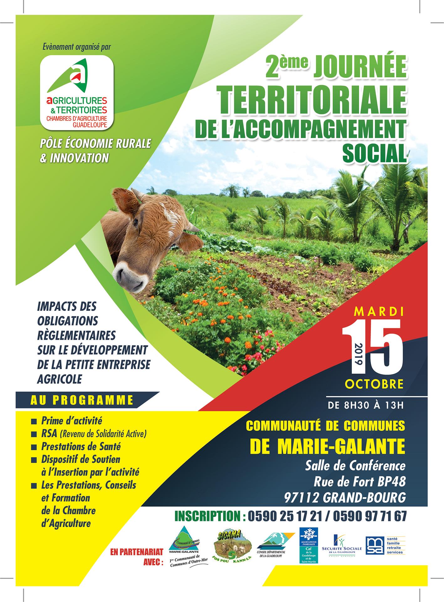 2ème Journée Territoriale de l'Accompagnement Social